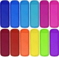 Popsicle Çanta Dondurucu Popsicle Sahipleri Kullanımlık Neopren Yalıtım Buz Pop Kollu Çanta Çocuklar için Yaz Mutfak Aletleri FWB6927