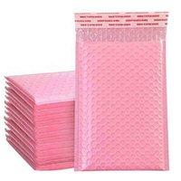 فقاعة 20 * 25 سنتيمتر توسيد التفاف المغلف حقيبة الذاتي ختم البريد مبطن المغلفات مع فقاعات البريد هدية الحزم الأكياس الوردي CQ1L
