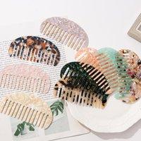 Корейский антистатический дизайн черепаха раковины ацетат с гребнями парикмахерская щетка для женщин для женщин для волос для волос инструмент для укладки волос DHB5863