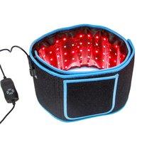재고 있음 미국 전문 붉은 빛 치료 허리 벨트 팔 Lazer 지방 감소 패드 가정용에 대한 전신 lipo 레이저 벨트