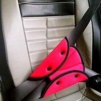 مقعد سيارة السلامة حزام الغلاف قوي قابل للتعديل سادة مثلث مقاطع حماية الطفل تصفيف الاكسسوارات السيارات أحزمة