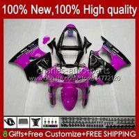 Bodywork For KAWASAKI NINJA ZX-6R 600CC ZX-636 ZX600 1998 1999 Body 16No.95 ZX-600 ZX600CC ZX636 98-99 ZX 636 600 CC 6 R 6R ZX6R 98 99 Motorcycle Fairing Kit pink glossy