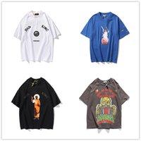 Kanye мужская футболка для женщин с короткими рукавами Высококачественная футболка с короткими рукавами Я король Иисус Письмо Печать хип-хоп стиль одежды