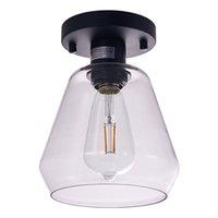 천장 조명 표면 탑재 된 현대 가벼운 홈 비품 램프 85-265V 거실 침실 용 주방 천장 램프 20cm 깊이 및 22.5cm 높이