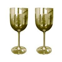 ワインマグカップウォーターボトルパーティーホワイトシャンパンクーペカクテルガラスフルートレッドワインカップゴブレットメッキプラスチックビールメガネウイスキーカップドリンクウェア