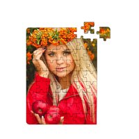 Sublimation blank Jigsaw Puzzle products A5 size DIY Puzzles Heat Printing Transfer Local Return Gift for lovers