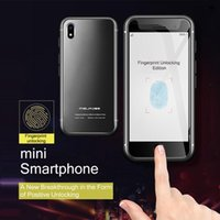 Orijinal Mini Cep Telefonu Melrose S9 Artı 4G LTE Küçük Smartphone 5MP Kameralar MTK6737 Dört Çekirdekli Android7.0 Parmak İzi ID Telefon