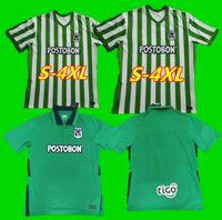 S-4XL 태국어 품질 남성 키트 키트 S-XXL Atlético Nacional 2021 축구 유니폼 홈 전선 Atletico 21 22 Jersey Football Shirts