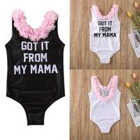 Clothing Sets Baby & Children's Girls Kids Flower Swimwear Swimsuit Backless Swimming Costume Bikini