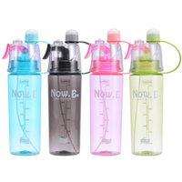 Creative Tumblers Plástico Ao Ar Livre Esportes Spray Garrafa de Água Presente de Água Presente Single Layer Copos Personalizados Logo 600ml