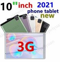 2021 OCTA CORE 10 pouces MTK6592 Dual Sim 3G Tablet PC Téléphone IPS Capacitif tactile écran tactile Android 7.0 4GB 64 Go WiFi
