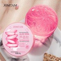 300 g de rosa Sakura Aloe Vera Gel Retire la crema del día de acné Cara relajante / Mano / Cuerpo Cuidado de la piel Hidratante Reparación Dormir Máscara