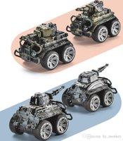 Mini Tank Simulation Militärfahrzeug Legierung Diecast Spielzeug Ziehen Zurückhaltung Gepanzerte Model Autos LKW Kinder Geburtstagsgeschenk