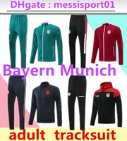 21/22 Bayern Futebol Tracksuit Munich Survection Futebol Jackets 2021 2022 Vidal Lewandowski Muller Hoodie Jacket Training Suit
