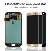 SAMSUNG GALAXY S7 G930A G930F SM-G930F LCD Ekran Dokunmatik Sayısallaştırıcı Meclis Yedek Parça için Paneller