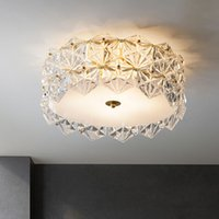 LED Ceiling Light Living Room Lamp Modern Minimalist Restaurant Kitchen Lighting for Acrylic Bedroom Lamps 90-260V