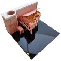 Party Faure Omoshiroi Block 155Shiestestesteft Netepad Cubes Acylic Box Piano модель DIY Memo Cube Pad рождественские украшения наклейки подарок