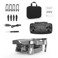 E68 Mini Drone 4K HD Wide Angle WIFI FPV Drones Camera Quadcopter Model Electronics Professional Selfie Dron Kids Gift
