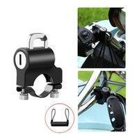 Bike Locks Bicycle Padlock Motorcycle Electric Lock Universal Accessories Anti-theft Helmet For 22-24mm Handlebar