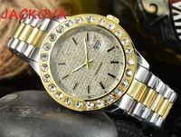 Sapphire crystal sky diamonds womens Watches Automatic quartz movement man Watch Diamond date Men Wristwatches