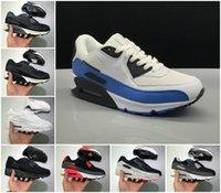 Top Quality 2021 Almofada 90s OG Casual Arco-íris Running Shoes Homens Mulheres Barato Preto Branco Vermelho 90 Sneakers Classic Trainer Outdoor Designers Sapato