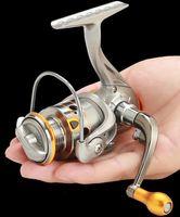 12 + 1BB DC150 Mini bobine di rotazione della pesca L / R Exchange Hand Exchange 5.2: 1 Gapless Cuscinetto Metallo Bobina Attrezzatura Attrezzatura di alta qualità
