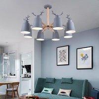 Pendant Lamps Modern Europe Led Crystal Nordic Light Luminaire Industrial Lamp Chandelier Bedroom