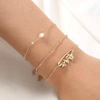 Fashion Jewelry For Women Multi Layer Charm Bracelets simple Chain Bracelets