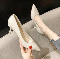 # 457 Delle Donne Dress Shoes Ufficio Pumps di alta qualità Tacchi a basso contenuto di sandali a punta Semplice Sexy Sexy Sexy Shoe Sexy Sexy Shoe