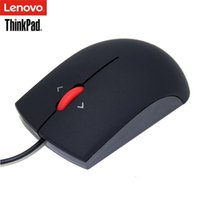 Lenovo ThinkPad OB47153 노트북 IBM Red Dot 유선 마우스 1000 DPI USB PC 마우스