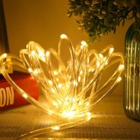 Party Decoration 50 LED Beads String Light Garden Trees Decorative Flash Lamps Home Hanging Decor Strip Lamp Xmas Lights