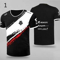 T-shirt dos homens e mulheres poloshirt camisa homens lol csgo moda roupas de rua J0609