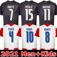20 21 MIDROC 2020 2020 2021 المنتخب الوطني ماندزوكيك المنزل orsic لكرة القدم جيرسي perisic rakitic srna kovacic brozovic rebuc لكرة القدم قمصان الكبار الرجال + أطفال عدة