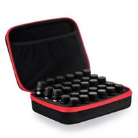 Essential Oil Case 30 Bottles 15ML Perfume Box Travel Portable Carrying Holder Nail Polish Storage Bag 5 Color Bags