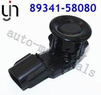 Capteurs de stationnement de la voiture à vue arrière 89341-58080 89341-58080 89341-58080-C0 Capteur ultrasonique de rechange PDC pour l'inversion de la sauvegarde Alphard Vellfire