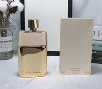 Maior versão dourada mulheres perfume 90 ml Sexy e sedutor de alta qualidade desodorante de saúde de longa duração entrega rápida