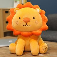 35-50cm Cute Lion Plush Toys Lovely Soft Stuffed Animals Doll Cartoon Sleep Pillow Kids Baby Kawaii Christmas Gift
