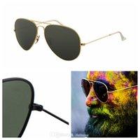 Moda Satış Lüks 2021 Tasarımcı Aviator Ray Güneş Gözlüğü Vintage Pilot Güneş Gözlükleri Band Vintages UV400 Yasak Erkekler Kadınlar Ben Wayfarer Güneş Gözlüğü Kutusu Ile