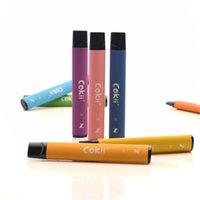 Cokii Dowal Puff Puff Plus предварительно заполненные 600+ C одноразовые электронные сигареты POD картридж 420 мАч батарея 2.8 мл Vape Pods 16 цвета DHL бесплатно