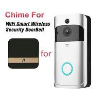 Smart Home Control Wireless Wifi Remote Doorbell Ring Camera Door Bell Ding Dong Machine Video Phone Intercom Security