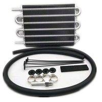 4/6/8 Zeile Aluminiumlegierung Fernübertragung Ölkühler Automatischer manueller Kühlerwandler Universal