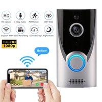 1080P M16 WiFi Дверной звонок Защитная камера беспроводной камеры 2MP HD Video Audio Домофон Дверной колокольчик ИК-ночное видение Облако хранение
