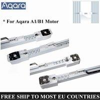 AQARA B1 Zigbee 모터 A1 WiFi 자동 전동 커튼 시스템에 대한 스마트 홈 제어 전기 커튼 레일 트랙