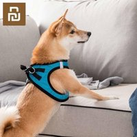 Smart Home Control Jordon&Judy Dog Vest Comfortable Breathable Anti-breakout Easy Wear Reflective At Night Summer Puppy Clothes Suit