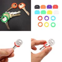 24 32pcs Round Soft Silicone Hollow Multi Color Rubber Keys ...