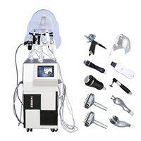 Multi-Functional 10 in 1 Skin Rejuvenation Hydra Jet Peel Water Oxygen Spray Facial Beauty Machine CE Spa608 Hydro Facial Beauty Equipment PDT BIO Light