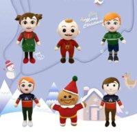 30cm Music Cocomelon Plush Toy Animation Jj Music-Doll Watermelon Doll Children's Gift Super Baby Jojoed Kids Chritmas-Gift