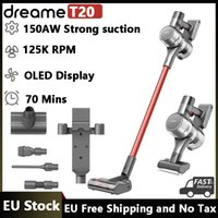 EU Stock Dreame T20 Handheld Cordless Vacuum Cleaner All-surface Brush 25kPa All In One Dust Collector Floor Carpet Aspirator