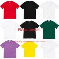 Brand Desighners Mens Womens T-shirt moda casual allentato allentato high street esclusius Benvenuto stampa maglietta a maniche corte per uomini e donne
