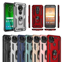 Shockproof Armor Kickstand Phone Cases Finger Magnetic Ring Holder Anti-Fall Cover For iPhone 12 Pro Max Google Pixel 4A 5 LG Stylo 6 7 Aristo 4 K51 Q60 K92 5G K53 K22